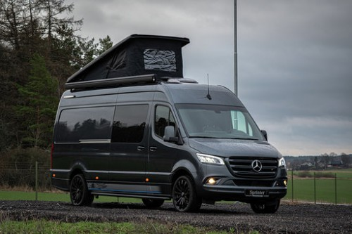 Mercedes Sprinter 316 Automatic LHD Pop top roof